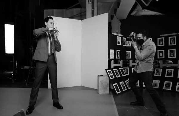 抖森为《洛基》拍摄硬照的幕后